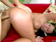milf big-tits, mom, dark-hair, pussy, casting, cougar, ass, big-cock, dick, doggystyle, brunette, red-bottom