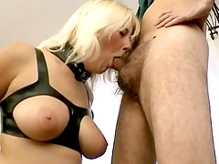 black cum-covered, mom, big-cock, busty, latex, huge-tits, bdsm, tits, big-tits, dick, penetrating, bondage, boobs, milf